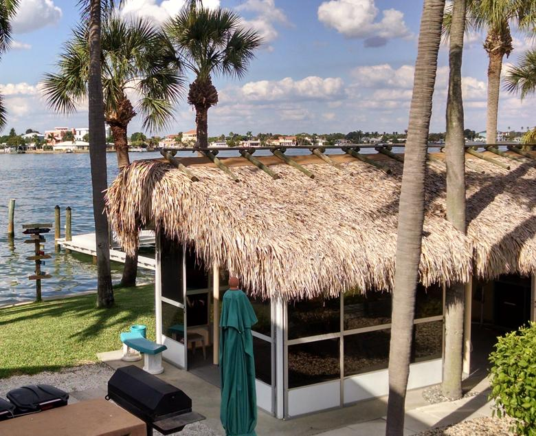 Waterfront cabana